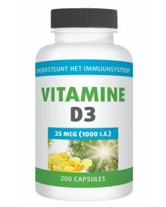 Gezonderwinkelen Vitamine D 25mcg 200 capsules