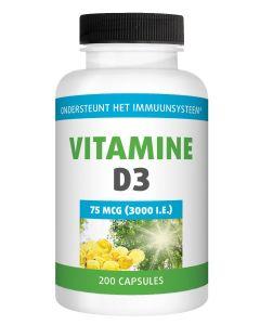 Gezonderwinkelen Vitamine D 75mcg 200 capsules