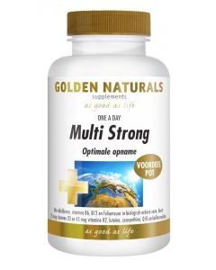 Golden Naturals Multi Strong One a Day 90 tabletten