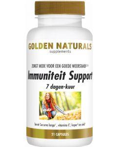 Golden Naturals Immuniteit support 7 dagen kuur 21 capsules