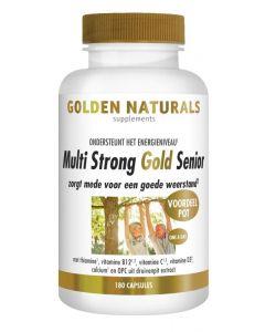 Golden Naturals Multi strong gold senior 180vc