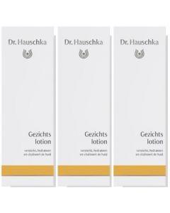 Dr. Hauschka Gezichtslotion Voordeelpak  3x 100ml