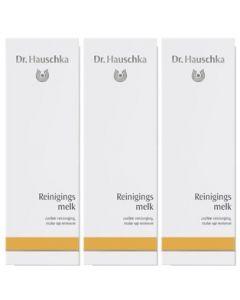Dr. Hauschka Reinigingsmelk Voordeelpak  3x 145ml