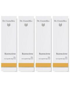 Dr. Hauschka Rozencreme Voordeelpak  4x 30ml