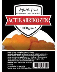 Health Food Actie Abrikozen 1000 gram