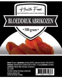 Health Food Bloeddruk Abrikozen 500 gram