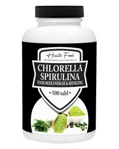 Health Food Chlorella Spirulina 500 tabletten