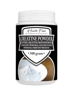 Health Food Creatine Monohydraat 500 gram