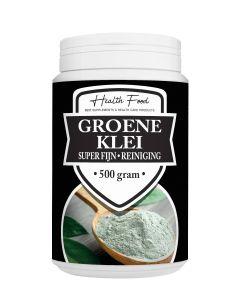 Health Food Groene Klei Super Fijn 500 gram