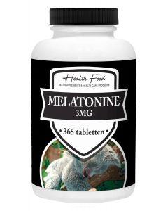 Health Food Super Melatonine 3mg 365 tabletten (stuntprijs, op=op!)