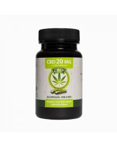 Jacob Hooy CBD 20mg 30 capsules