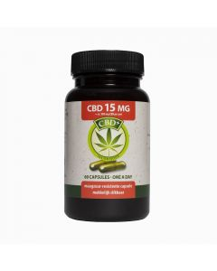 Jacob Hooy CBD 15mg 60 capsules