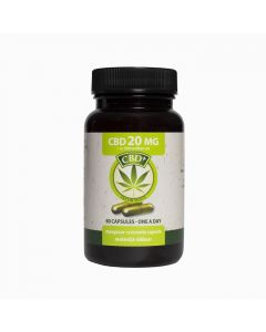 Jacob Hooy CBD 20mg 60 capsules