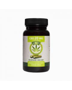 Jacob Hooy CBD 20mg 60 capsules