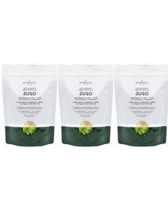 Jacob Hooy Juso psyllium hulpvezels drie-pak 3x 300 gram