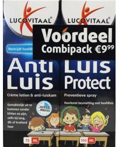 Lucovitaal Anti Luis (behandeling) 75 ml + Luis Protect (preventieve spray) 100 ml