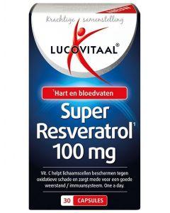 Lucovitaal Super Resveratrol 30 capsules