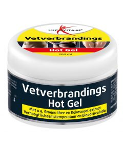 Lucovitaal Vetverbrandings Hot Gel  200ml