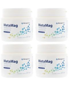 Metagenics Metamag perzik NF vier-pak 4x 227 gram