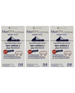 Minami Mor EPA Platinum 1000 IE drie-pak 3x 60 softgels