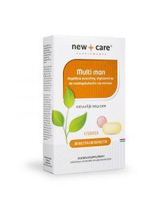 New Care Multi man (vruchtbaarheid) 30 tabletten en 30 zuigtabletten