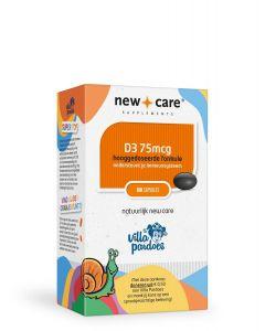 New Care Villa Pardoes Vitamine D3 75mcg 100 capsules