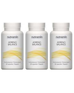 Nutramin Adreno Balance drie-pak 3x 60 capsules