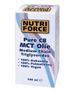 Naproz Nutriforce MCT Olie C8 500ml