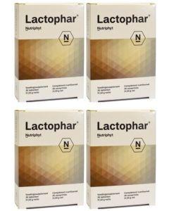 Nutriphyt Lactophar vier-pak 4x 30 tabletten