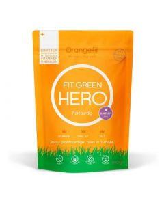 Orange Fit Hero Plantaardige alles in één maaltijd Blue Berry 8 porties 3400 kcl Groot verpakking