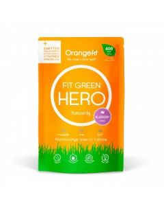 Orange Fit Hero Plantaardige alles in één maaltijd Blue Berry portie 400 kcl Light