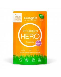 Orange Fit Hero Plantaardige alles in één maaltijd Blue Berry portie 600 kcl Light