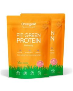Orange Fit Proteine Aardbei (plantaardige eiwitten) 2000 gram
