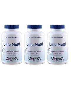 Orthica Dino Multi Trio 3x 120 kauwtabletten (= 360 kauwtabletten)
