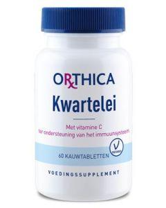 Orthica Kwartelei 60 kauwtabletten