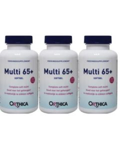 Orthica Soft Multi 65+ trio-pak 3x 120 softgels