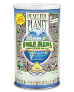 Peaceful Planet Plant Proteins INCA Meal Rice Protein 358 gram