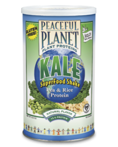 Peaceful Planet Plant Proteins KALE SuperFood Shake 435 gram