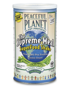 Peaceful Planet Plant Proteins The Supreme Meal SuperFood Shake 350 gram