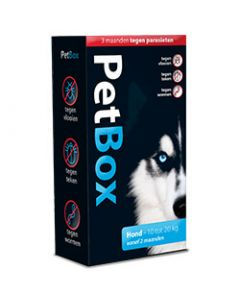 Petbox Hond 10-20 kg 1 set