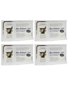 Pharma Nord Bio seleen & zink vierpak 4x 90 tabletten