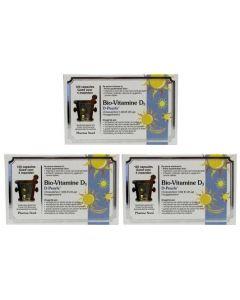 Pharma Nord Bio vitamine D3 25 mcg 1000IE trio-pak 3x 120 capsules