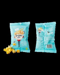 Bazqet Popcorn Cheese Sea Salt (Kaas Zee Zout) 22 gram