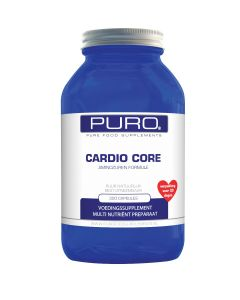 Puro Cardio Core (hart- & bloedvatenformule) 300 capsules
