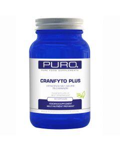 Puro Cranfyto Plus 60 capsules (cranberry & d-mannose)