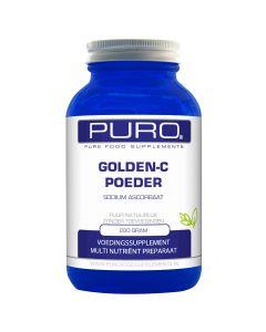 Puro Golden C 200 gram poeder (goed opneembaar, maagvriendelijke vitamine C)