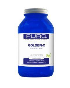 Puro Golden C 250 capsules (goed opneembaar, maagvriendelijke vitamine C)