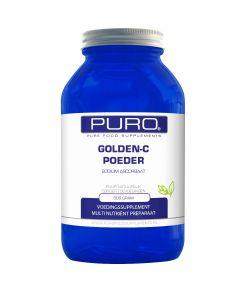 Puro Golden C 500 gram poeder (goed opneembaar, maagvriendelijke vitamine C)