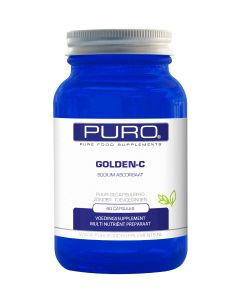 Puro Golden C 60 capsules (goed opneembaar, maagvriendelijke vitamine C)