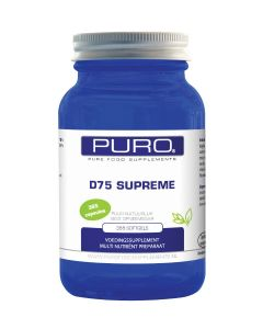 Puro D75-Supreme 365 softgels (vitamine D 75mcg)